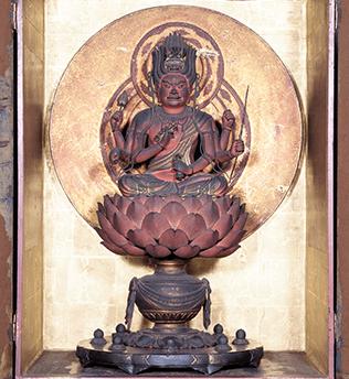 秘仏・愛染明王坐像